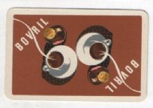 English Advertising collectible playing cards .Bovril,